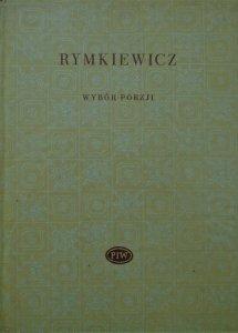 Aleksander Rymkiewicz • Wybór poezji [Biblioteka Poetów]