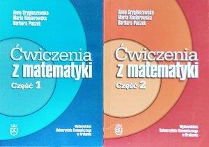 Anna Gryglaszewska • Ćwiczenia z matematyki