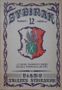 Sybirak 12/1994 • Pismo Związku Sybiraków