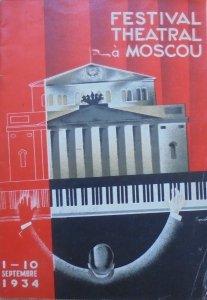 [folder] Festival Theatral a Moscou 1-10 septembre 1934