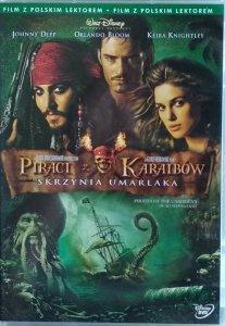Gore Verbinski • Piraci z Karaibów: Skrzynia umarlaka  • DVD