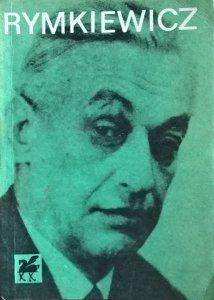 Aleksander Rymkiewicz • Poezje wybrane