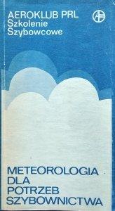 Marcin Schmidt • Meteorologia dla potrzeb szybownictwa