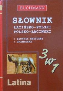 Słownik łacińsko-polski, polsko-łaciński + słownik medyczny + gramatyka