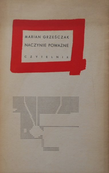 Marian Grześczak • Naczynie poważne