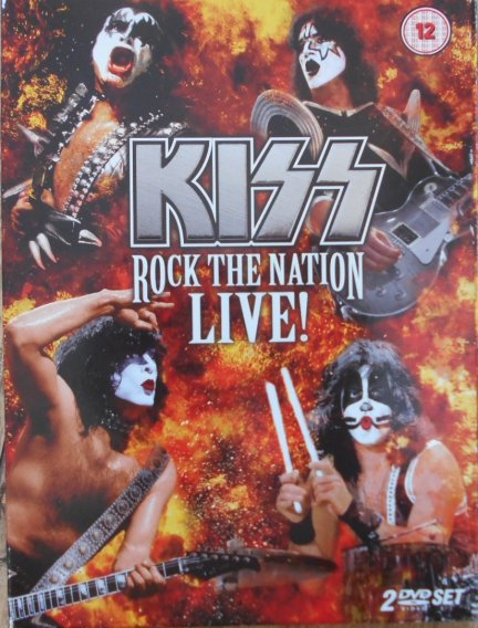 Kiss • Rock the Nation Live! • 2DVD