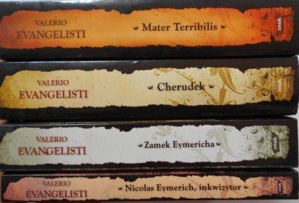 Valerio Evangelisti • Nicolas Eymerich, inkwizytor - cykl, komplet