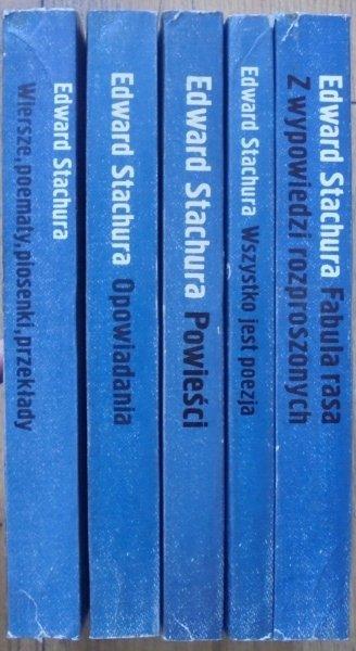 Edward Stachura • Poezja i proza [komplet]