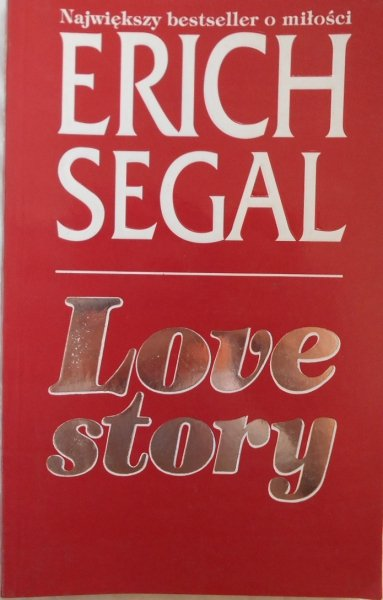 Erich Segal • Love story