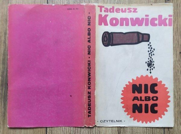 Tadeusz Konwicki • Nic albo nic [Jan Młodożeniec]
