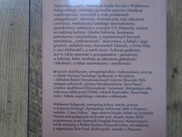Wojciech Józef Burszta, Waldemar Kuligowski • Sequel. Dalsze przygody kultury w globalnym świecie