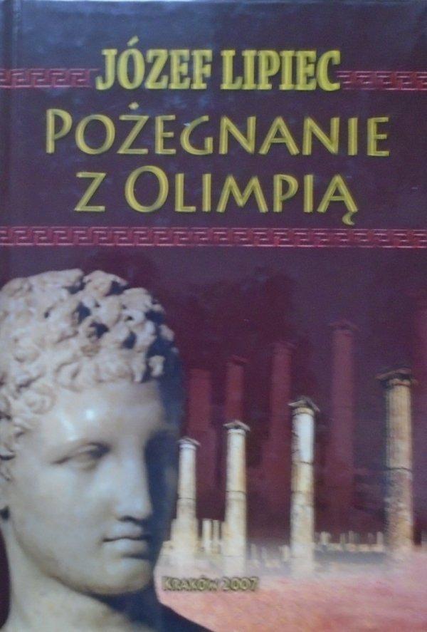 Józef Lipiec • Pożegnanie z Olimpią [filozofia sportu]