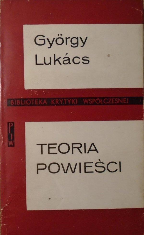 Gyorgy Lukacs • Teoria powieści