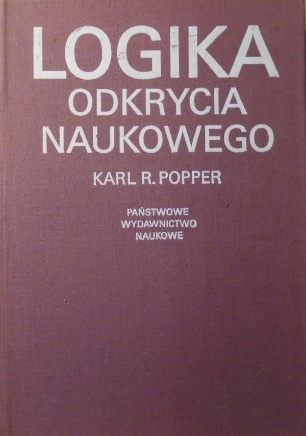 Karl R. Popper • Logika odkrycia naukowego