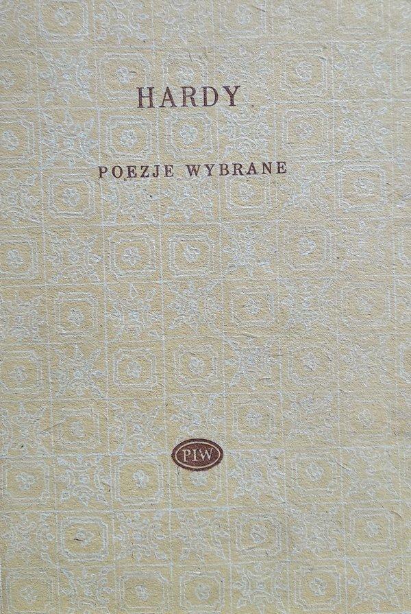 Thomas Hardy • Poezje wybrane [Biblioteka Poetów]