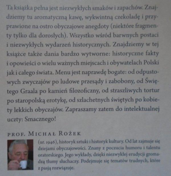 Michał Rożek • Smakowitości obyczajowe