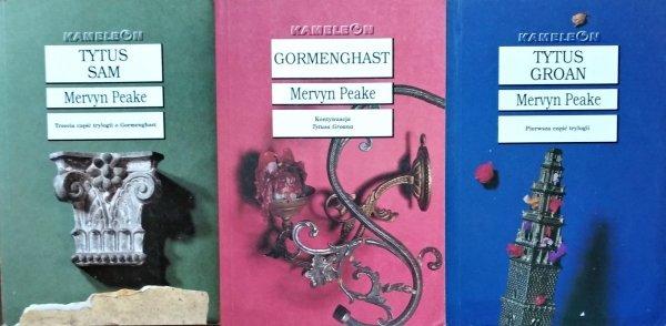 Mervyn Peake • Trylogia Gormenghast [komplet]
