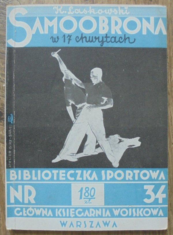 Kazimierz Laskowski • Samoobrona w 17 chwytach [Atelier Girs-Barcz]