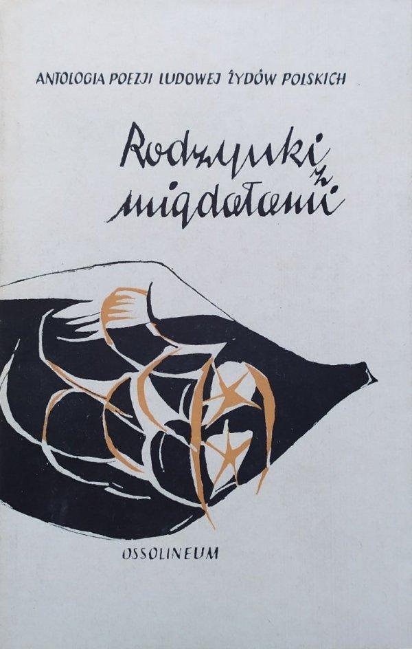 Rodzynki z migdałami. Antologia poezji ludowej Żydów polskich