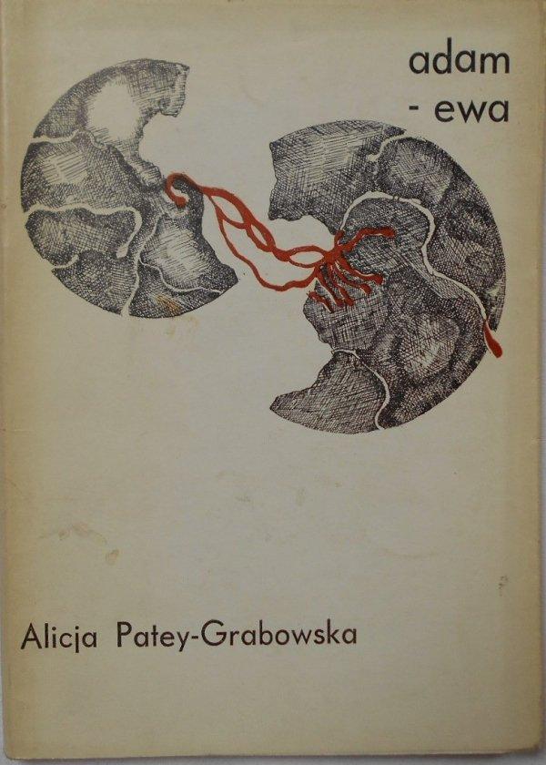 Alicja Patey Grabowska • Adam-Ewa [dedykacja autora]