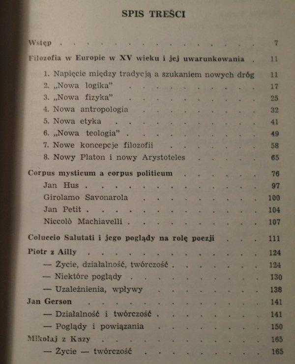 Stefan Swieżawski • Między średniowieczem a czasami nowymi
