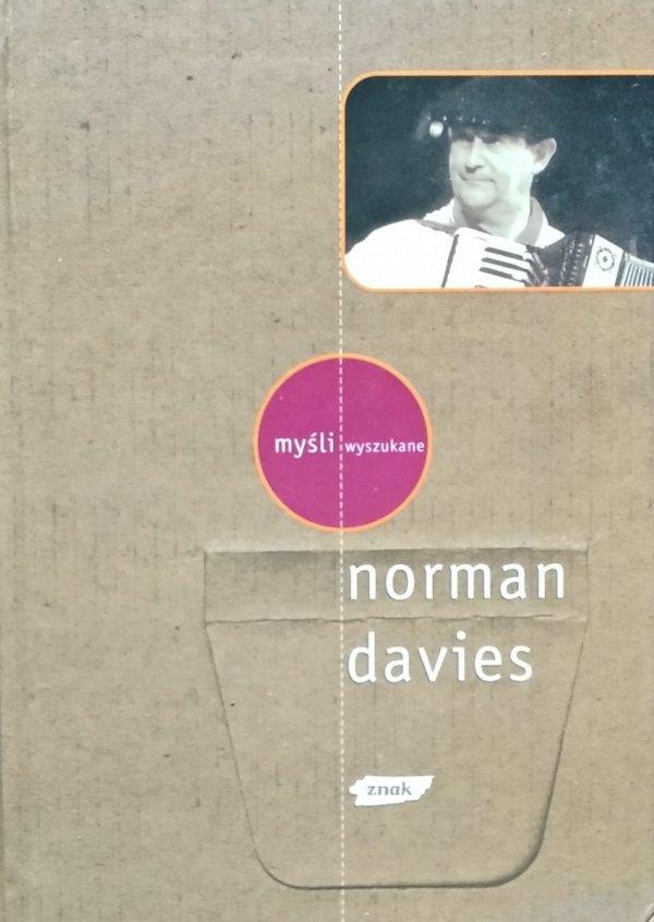 Norman Davies • Myśli wyszukane
