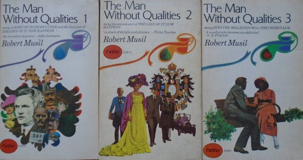 Robert Musil • The Man Without Qualities