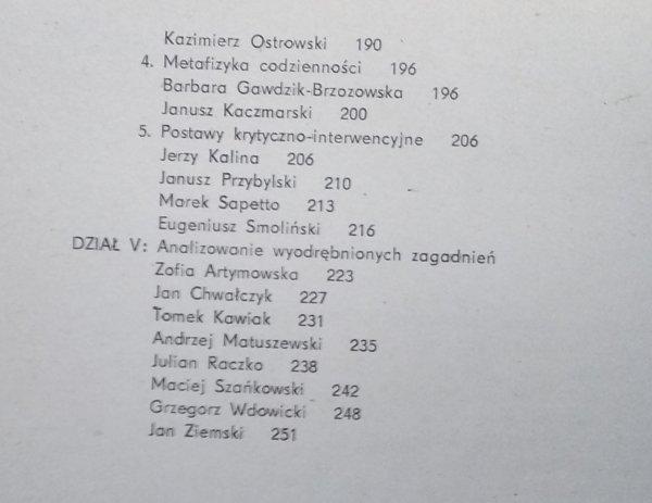 Bożena Kowalska • Twórcy - postawy. Artyści mojej galerii [Jerzy Nowosielski, Tadeusz Brzozowski, Roman Opałka]
