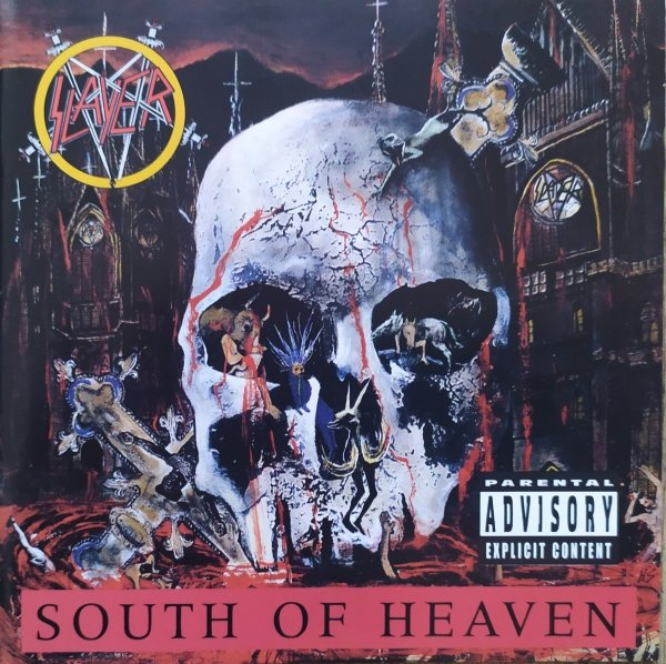 Slayer South of Heaven CD