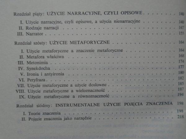 Jerzy Pelc • O użyciu wyrażeń [semiotyka]