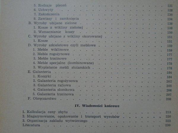 Bolesław Kański • Koszykarstwo [wikliniarstwo]