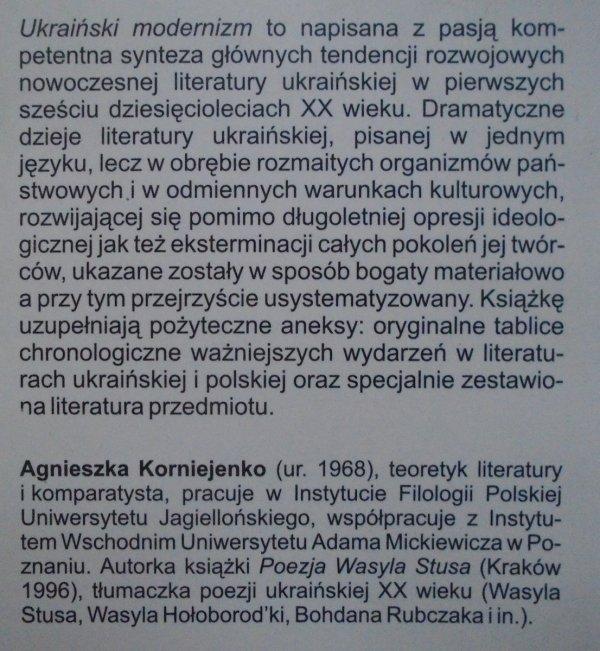Agnieszka Korniejenko • Ukraiński modernizm