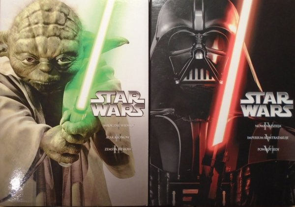 George Lucas • Gwiezdne wojny [Star Wars] 1-6 [dubbing] • DVD