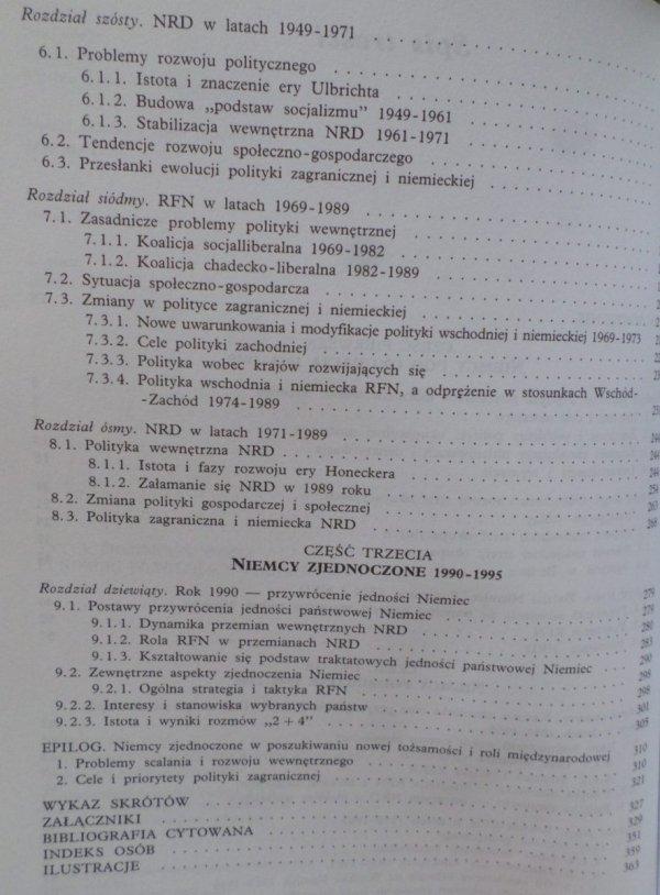 Erhard Cziomer • Zarys historii Niemiec powojennych 1945-1995