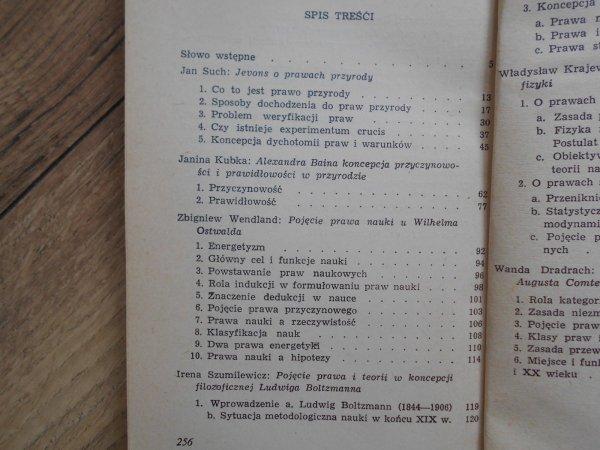 Pojęcie prawa nauki w końcu XIX wieku • Jevons, Ostwald, Boltzmann, Comte