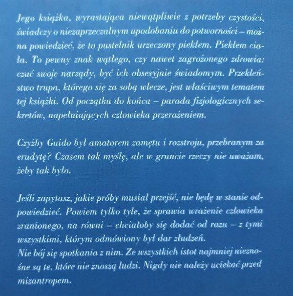 Guido Ceronetti • Milczenie ciała