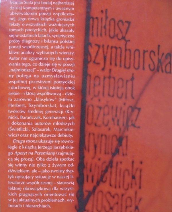 Marian Stala • Druga strona [Szymborska, Białoszewski, Barańczak, Herbert, Różewicz]