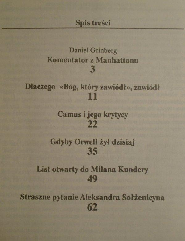 Norman Podhoretz • Krwawe skrzyżowanie [Camus, Orwell, Kundera, Sołżenicyn]