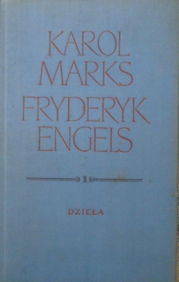 Karol Marks, Fryderyk Engels • Dzieła tom 1.