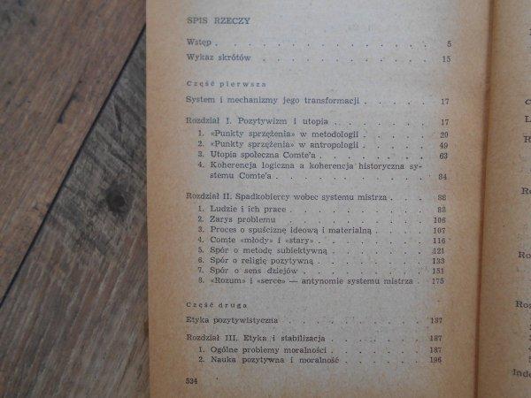 Barbara Skarga • Ortodoksja i rewizja w pozytywizmie francuskim