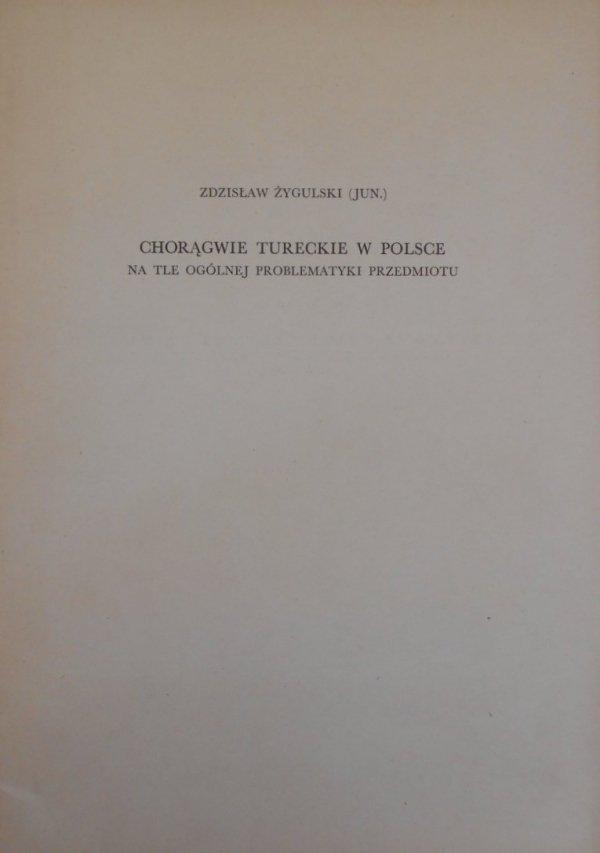 Zdzisław Żygulski junior • Chorągwie tureckie w Polsce