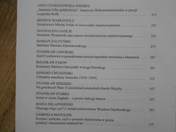 Literatura - kulturoznawstwo - uniwersytet. Księga ofiarowana Franciszkowi Ziejce w 65 rocznicę urodzin