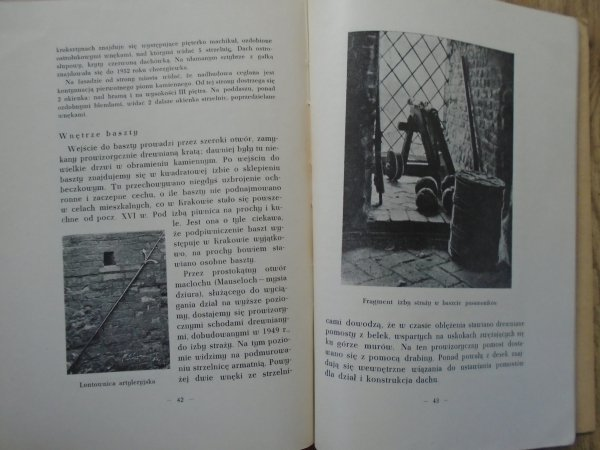 Jan Pachoński • Dawne mury floriańskie