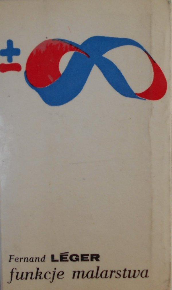 Fernand Leger • Funkcje malarstwa