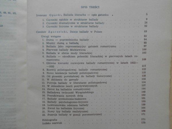 Ireneusz Opacki, Czesław Zgorzelski • Ballada