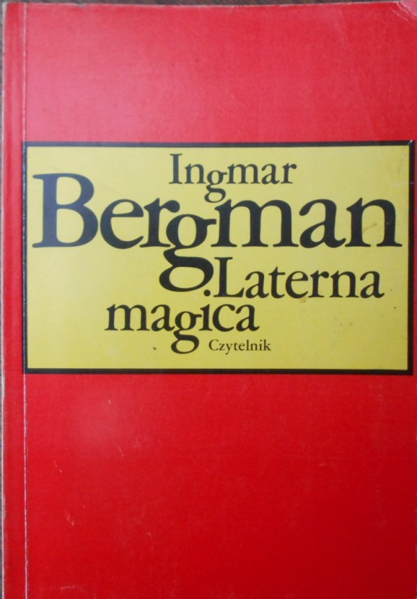 Ingmar Bergman Laterna magica