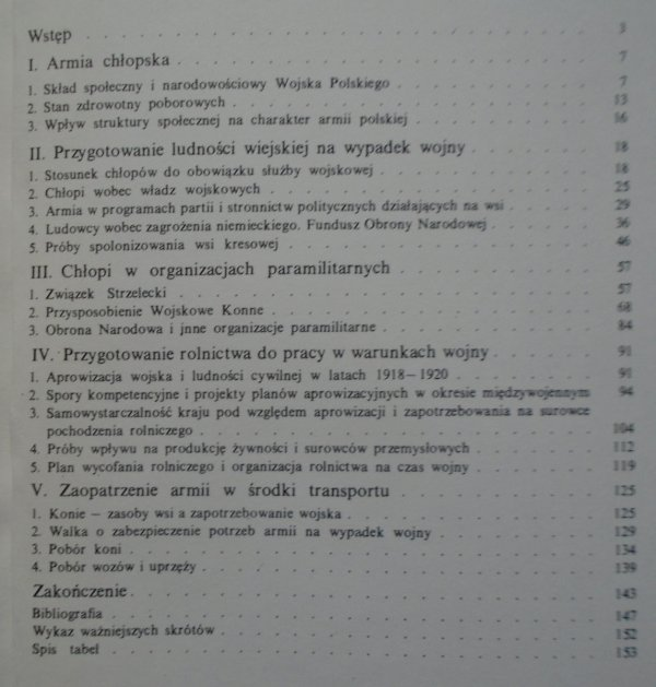 Janusz Odziemkowski • Wieś i armia w II Rzeczypospolitej