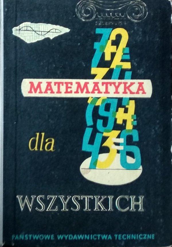 Janusz Kobyliński • Matematyka dla wszystkich