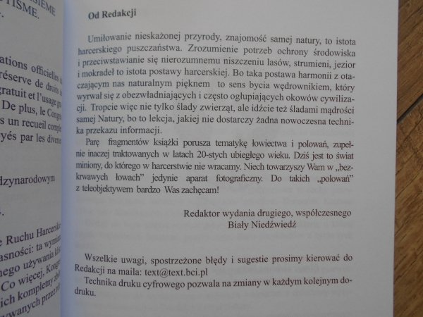 Tadeusz Sopoćko, Olgierd Grzymatowski • Na tropach ludzi i zwierząt. Podręcznik dla harcerzy