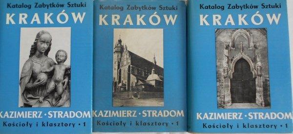 Katalog zabytków sztuki Kraków. Kazimierz. Stradom • Kościoły i klasztory